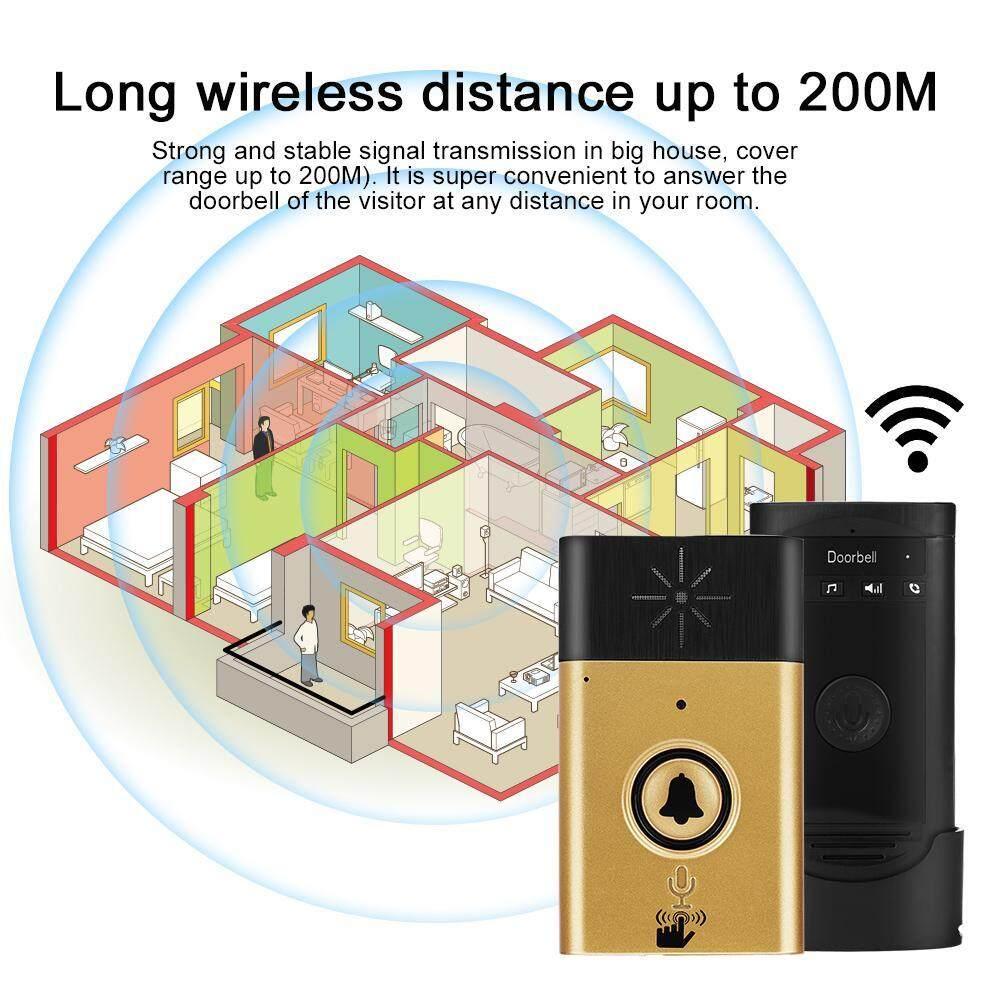 Shuxiz Đàm Thoại Không Dây Liên Lạc Nội Bộ Doorbells 2 Chiều Thảo Luận Nhà Chuông Cửa Liên Lạc Nội Bộ Bộ