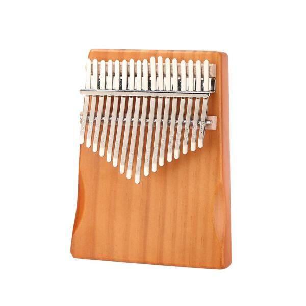 Pine Wood Kalimba Percussion Musical Instrument 17 Keys Thumb Finger Piano Malaysia