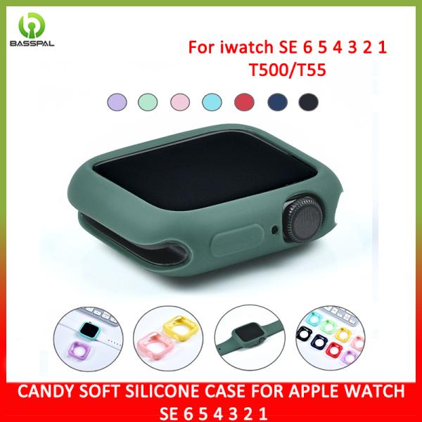 Ốp bảo vệ mặt đồng hồ Apple dòng 40mm 4mm loại 1 2  3 4 5, bằng silicone mềm dẻo, chống trầy xước, giá tốt - INTL