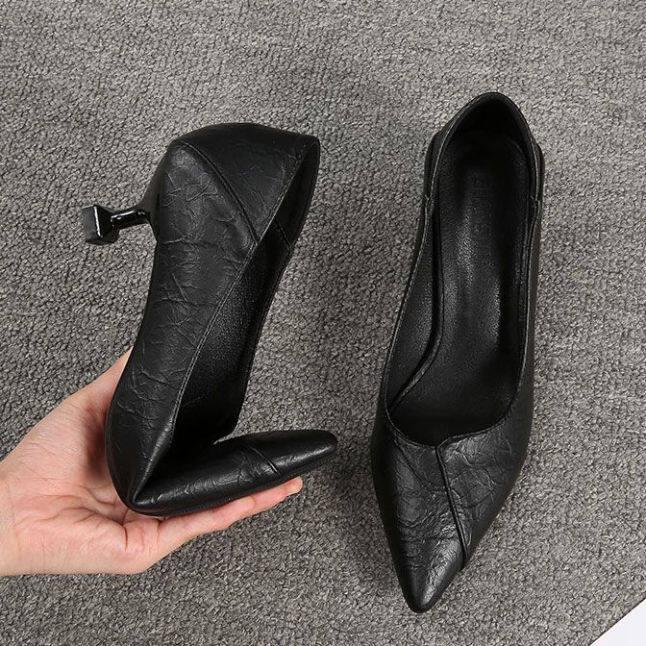 Cao-Giày Cao Gót Gót Mảnh 2020 Mùa Xuân Mới Giày Hoang Dã giá rẻ