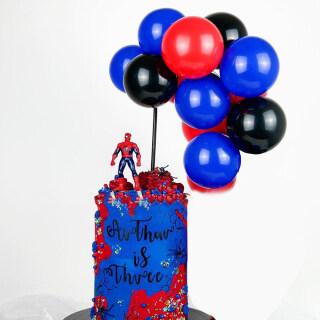 Balloon Cake Topper, Chúc Mừng Sinh Nhật Cake Topper, Tráng Miệng Topper Trang Trí Bánh Cho Sinh Nhật, Đám Cưới Em Bé Tắm Bánh Trang Trí thumbnail