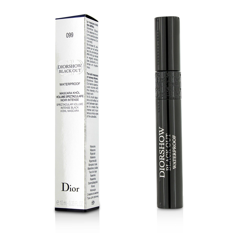 Christian Dior - Diorshow Black Out Mascara Waterproof -  099 Kohl Black 10ml/0.33oz.