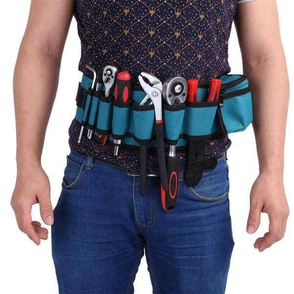 Professional Electricians Tool Electrician Tool Holder Storage Holder Waist Bag Convenient Organizer w/Adjustabe Belt