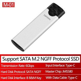 Hộp Đựng SSD Hộp M2 Sang USB 3.1 M.2 Bộ Chuyển Đổi Ổ Cứng Gắn Ngoài Loại C Hd Cho NGFF SATA B + M Key NVME PCIE M Key Box thumbnail