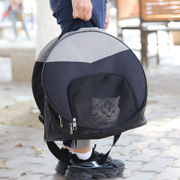 Túi Khử Trùng Đồ Dùng Cho Thú Cưng Túi Mèo, Lồng Mèo Di Động Đeo Chéo Thoáng Khí, Pet Nguồn Cung Cấp Ba Lô