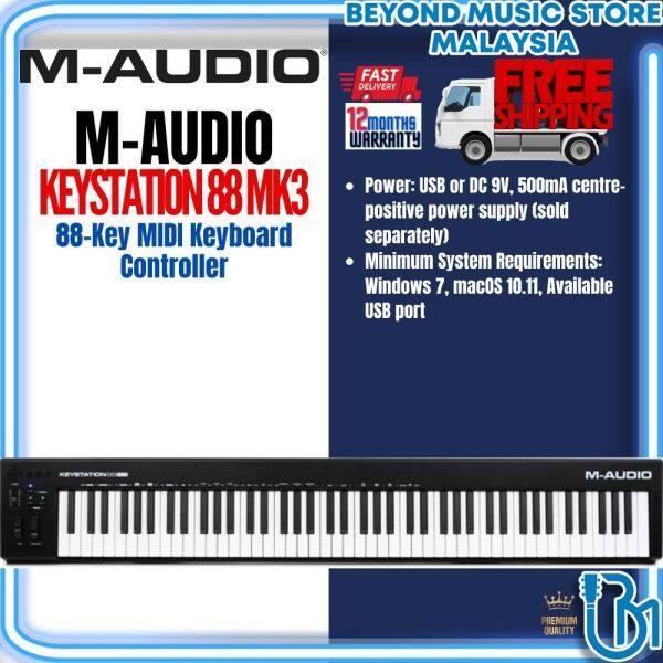 M-Audio Keystation 88 MK3 - 88-Key MIDI Keyboard Controller (Keystation-88/Keystation88) Malaysia