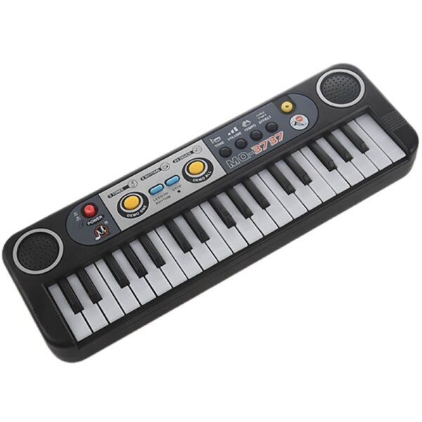 37 Keys Kid Organ Electric Piano Digital Music Electronic Keyboard Musical Instrument With Mini Microphone For Children Learning