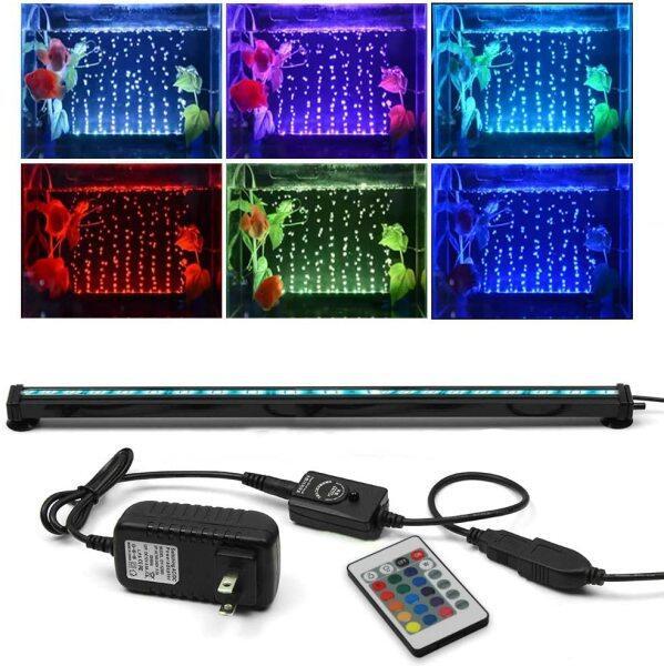 Đèn LED Dưới IP68 Cho Bể Cá, Điều Khiển Từ Xa, Có Nhiều Màu Sắc Tươi Sáng-Intl
