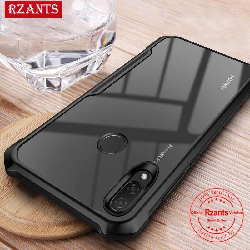 Rzants For Huawei Nova 3i Hard Case【Four corner】Transparent Silica Gel Matte ShockProof