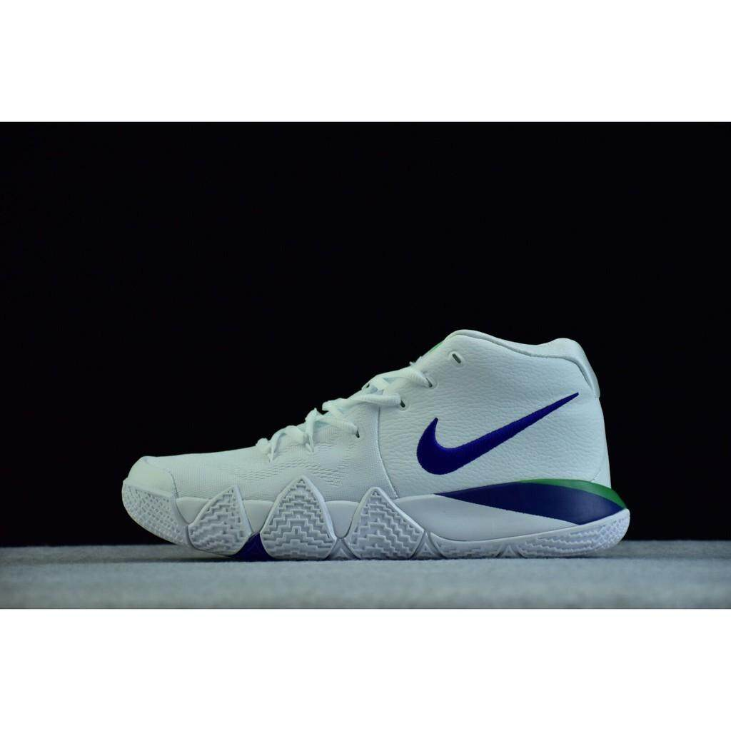 aecaeaa36004 original nike kyrie4 white blue men basketball shoe kyrie irving sport  size40-46