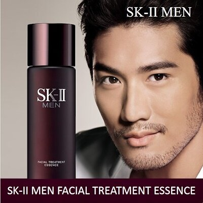 Sk Ii Men Facial Treatment Essence With Over 90 Pitera Essentially Unchanged For More Than 35 Years This Essence Transforms All Five Dimensions Of Your Skin To Crystal Clear Spots Are Less Visible