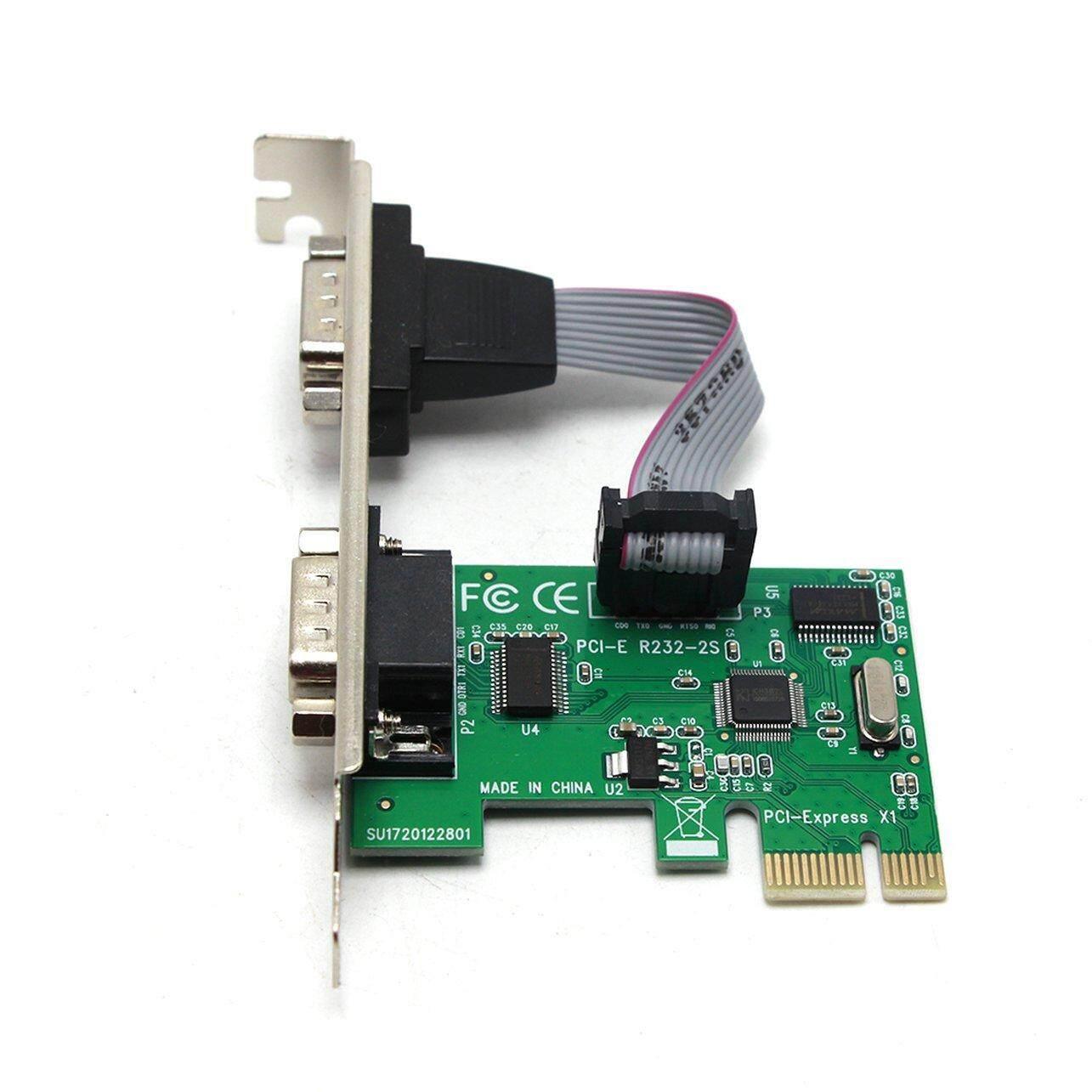 GOOD SHOP Pci-E Serial Port Card Pci-E To Serial Port Card R232 Interface Com Port Card