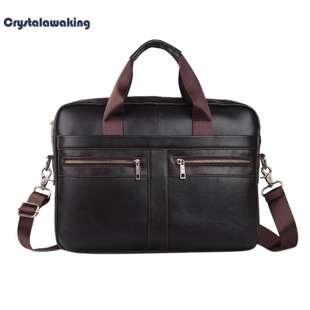 Large Men Laptop Handbags Bussiness Shoulder Crossbody Messenger Briefcase