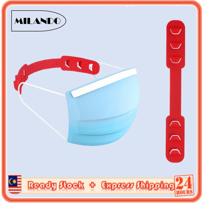 MILANDO Mask Holder Mask Ear Protector Hook Extension Cord Strap Extender (Type 1)