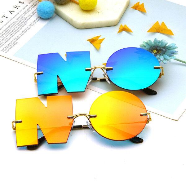 Giá bán UV400 Sunglass Trend Sol Thương Hiệu De Ladies Designer Shades Phụ Nữ Kính Không Kính Râm Thư