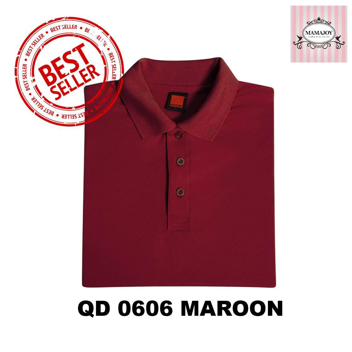 4cfea6f11 QD06 Oren Sport Unisex Polo Short Sleeve Jersey Tshirt Microfiber 160gsm
