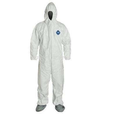 Dupont, Tyvek Barrierman (1422A) Overall, White, M