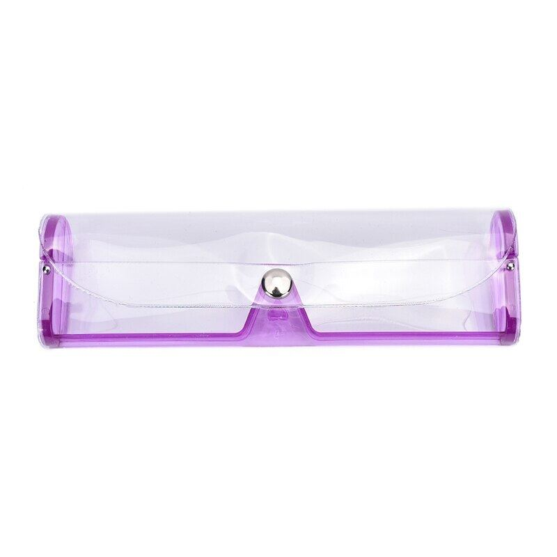 Giá bán Kính Mắt Ốp Lưng Nhựa PVC Hộp Kính Trong Suốt Mắt Ốp Lưng Nhựa Mắt Kính Cho Người Cận Thị Ống Kính 6 Màu Sắc Nhiều Màu