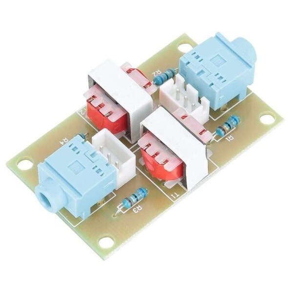 Bảng giá XH-M372 Stereo Audio Common Ground Isolator Module Signal Noise Filter Line Portable Noise Isolation Transformer Coupler Phong Vũ