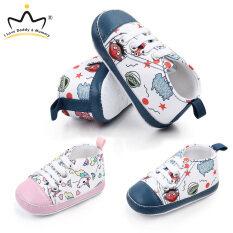 Giày thể thao I Love daddy & Mummy cho bé, Giày Sneaker cotton mềm hình kỳ lân cho bé trai bé gái