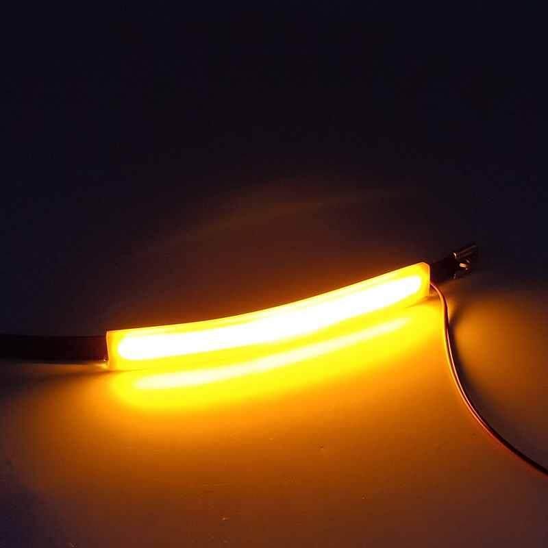 Image 5 for วัตสันรถจักรยานยนต์สัญญาณเลี้ยว LED รถด้านหน้าส้อมตัวหน่วงการสั่นสะเทือน 2 สีไลท์ไกด์แหวนสไตล์สากล