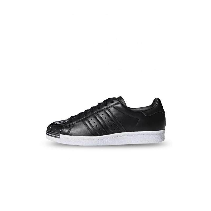 the latest 6cb70 a0531 adidas Originals Superstar 80s (Black) Women s Shoes - DB2152