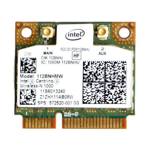 Giá Intel Centino Wireless-N 1000 802.11 B/G/N 112BNHMW Nửa Mini PCI-E Wifi Card