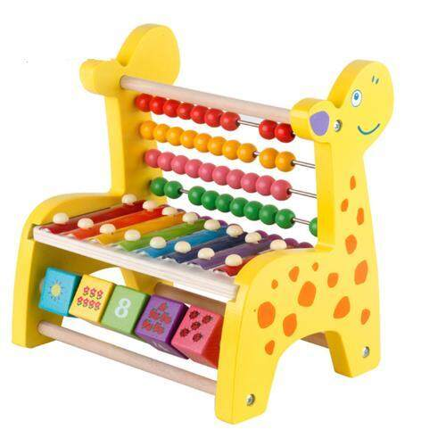 Hand Knock Piano Toy Giraffe Percussion Instruments Music Early Education Puzzle Beautiful Gifts