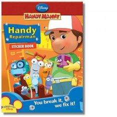 Handy Manny Assorted Books (set Of 4) By Versalyn.