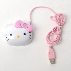 Hello Kitty Cat Cartoon USB Optical Computer Mouse Malaysia