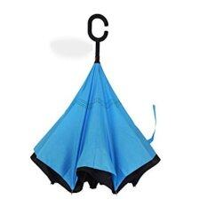 High Quality Inverted Reverse Umbrella Double Layer C Hook (blue) By Dlittle.