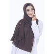 Hijab Fesyen Rindu Long Shawl Brown