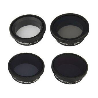 FREEWELL Action Camera & Drone Gear 4 pieces filter pack (DJI Authorized Service & Distributor)