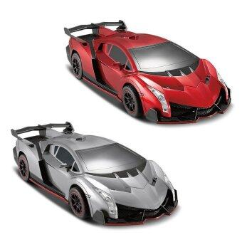 2016 New Deformation RC Remote Control Robot Car Veneno Best Toy For Boys(Red)