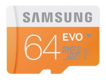 (Genuine) Samsung 64GB 48MB/s EVO Class 10 Micro SDXC UHS-I Memory Card with Adapter MB-MP64DA