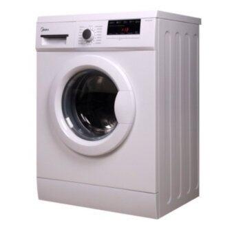 (Package Offer) Midea 8.0kg Front Loading Washer Machine MFL80-ES1200(1200rpm) + Midea 6.0kg Dryer MD-6288 + Free Gift