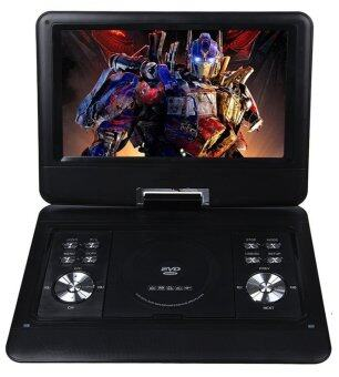 13.3\ Portable DVD Player Rechargeable Battery Supports SD Card and USB (Black)