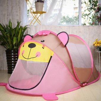 180cm Gray Bear Large Baby Play Tent House Pop Up Children Beach Play House Indoor Outdoor Toys Tents ZP39