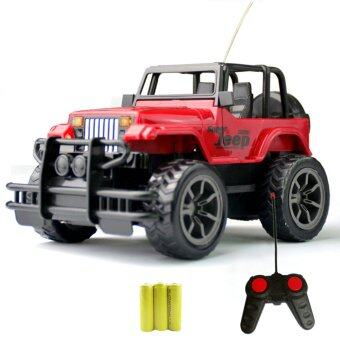 1:24 Drift Speed Radio Remote control RC Jeep Off-road vehicle+Headlight