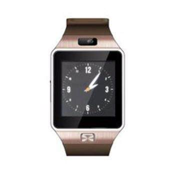 (2016 MTK6261D New Version CPU - Original) ZenGear New Version DZ-09 Wearables Smart Watch with Hands-Free Call Built-in Camera Bluetooth Connect for Android (Gold)