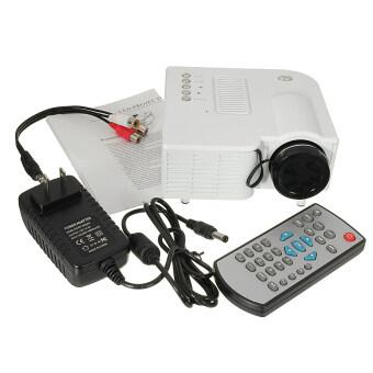 1080P HD Mini Home Cinema Theater USB LED Multimedia Projector AV TV VGA HDMI MT