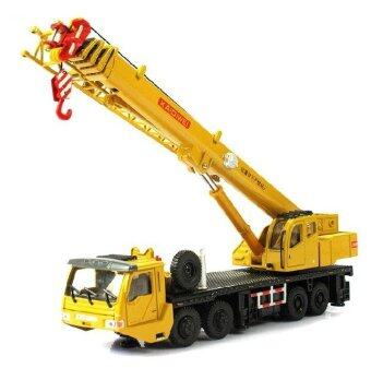 1 : 55 alloy Sliding construction crane model Toys children's educational toys
