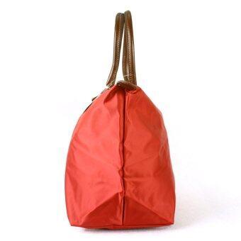 2016 New Fashion Women Travel Bag Large-Capacity Bag Foliding Traveling Handbag(Orange )