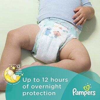 [International Shipping]Pampers Baby Dry Diapers Economy Pack Plus, Size 5, 160 Count (One Month Supply)()