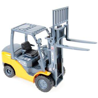 1:20 Alloy Diecast Forklift Truck Construction Vehicle Cars Model Toys Kids Gift