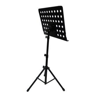 [3 in 1 Value Pack] Heavy Duty Music Stand for Orchestra, Conductor, Violin, Keyboard, Guitar, Ukulele & Food Menu(High Quality)