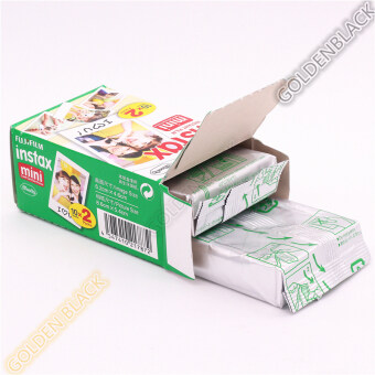 Fuji 20pcs/box Fujifilm Instax Mini 8 Film 20 Sheets for Camera Instant Mini 7s 25 50s 90 Photo Paper Edge 3 Inch Wide Film