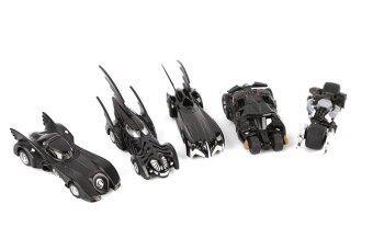 5pcs/set TOMY Batman Batmobile Cars Metal Alloy Collectible Toys Gifts