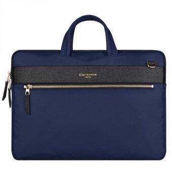 11 12 13.3 inch Laptop Shouler Messenger Sleeve Bags Handbag for Macbook Ultrabooks Notebook Protector for Mac Book Air 13 British Style Navy Blue