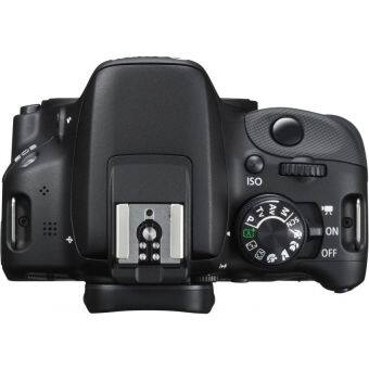 (IMPORT) Canon EOS 700D Kiss X7i Black 18MP With 18-55mm IS STM Lens Kit